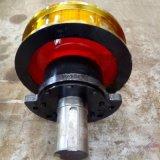鍛造主動車輪組 現貨起重機車輪組淬火調製堅固耐用