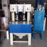 永康喷砂机 铁壶内部打砂处理自动转盘喷砂机