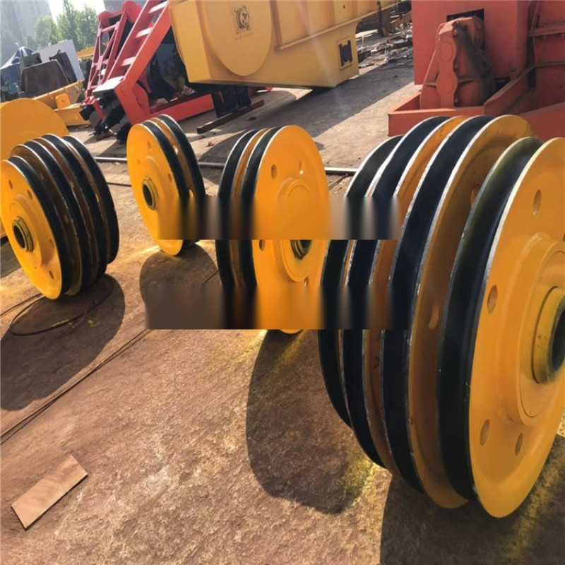 供应行车配件滑轮组 非标定制32吨轧制定滑轮组
