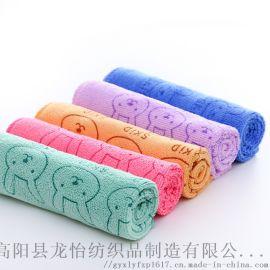 超细纤维毛巾 童巾方巾吸水 速干