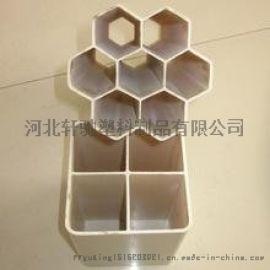 北京销售单孔栅格管厂家,PVC格栅管参数规格
