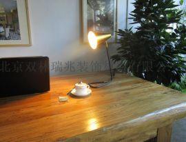 极简北欧现代金色小台灯