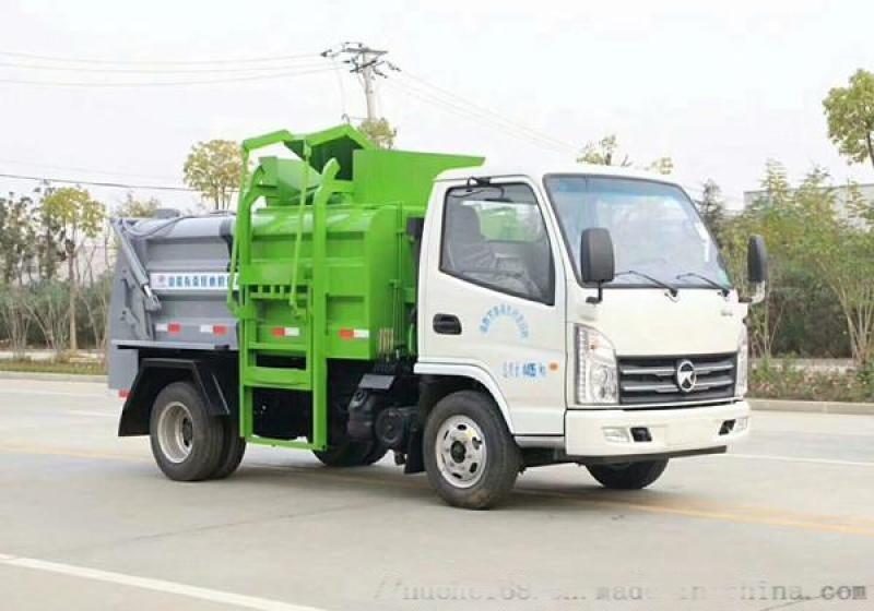 蓝牌餐厨垃圾车 3方餐厨垃圾车