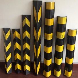 厂家订制橡胶护墙角 车库晶格反光防撞条