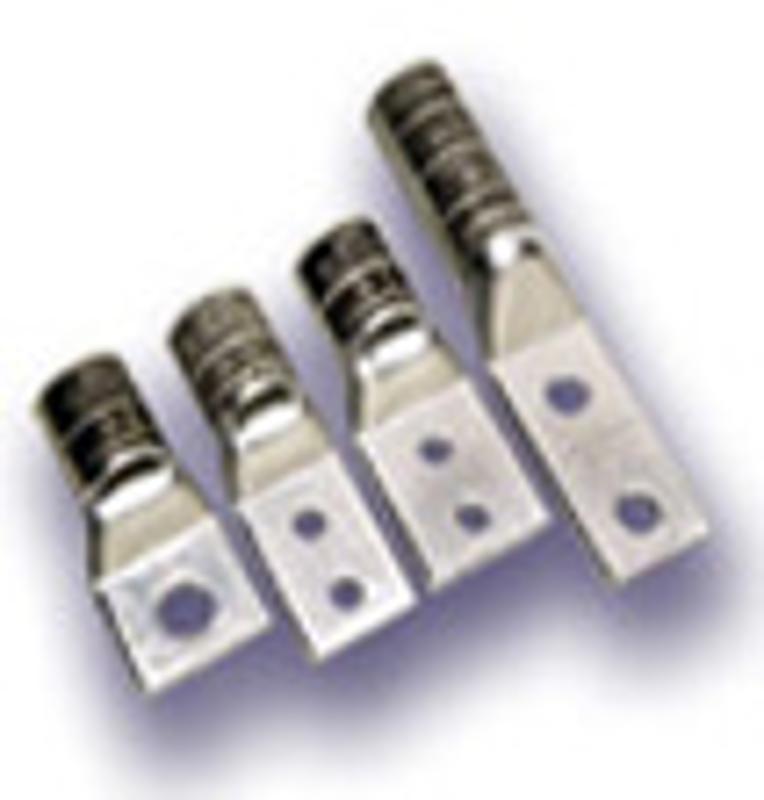 COMPRESSION无缝铜鼻铝鼻接线鼻接线耳压缩连接器UL/CSA