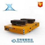 预制板港口仓库货物搬运重载车 重型拉货路轨运输平台车定制