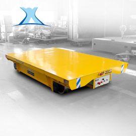 空压机轨道平台车液压车搬运车10t蓄电池轨道平板车