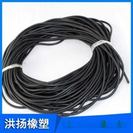 黑色橡胶条 三元乙丙橡胶条 耐高温硅胶条 氟胶条