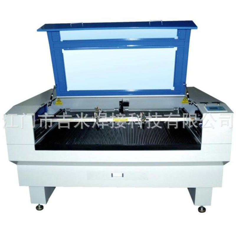 廠供 JM-1680 雙頭鐳射切割機 大幅鐳射切割機 服裝商標切割機
