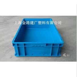 供应 46148塑料物流箱 600*400*148  塑胶周转箱 汽车零件箱