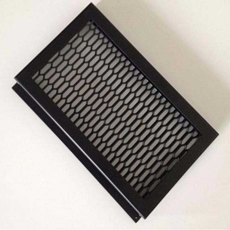 鋁網板金屬鋁合金拉伸鋁網格建材護欄網廠家供應定製