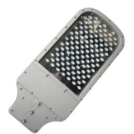 西安led压铸路灯头120W搓衣板路灯头平面路灯