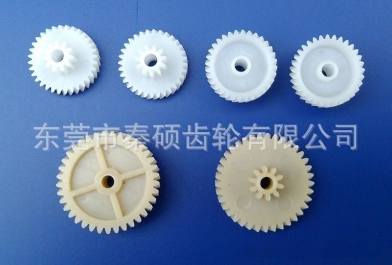 供应汽车音响导航车载CD塑胶齿轮塑胶蜗杆塑胶斜齿轮
