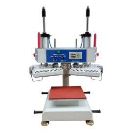 供應雙頭半自動壓燙機 冷熱熱轉印壓燙機 小型壓燙機