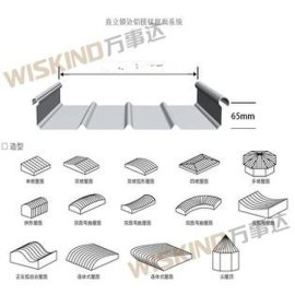 铝镁锰屋面板 铝镁锰板 铝镁锰屋面系统直立锁边、直立锁缝