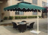 慕思萊藤傢俱供應MS-01 方形2.1M廣告單邊傘 花園遮陽傘 側立傘