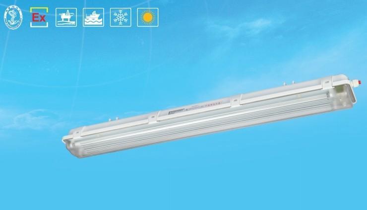 防爆燈BAY81-Q(T5節能型)防爆防腐全塑熒光燈ATEX認證