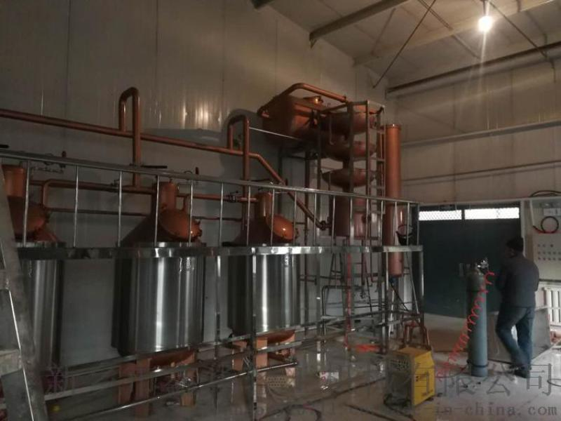 吐鲁番桑葚酒紫铜蒸馏设备 果酒酿酒蒸馏设备