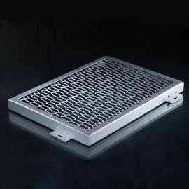 天花屋顶专用铝网板厂家直销菱角铝网板规格定制