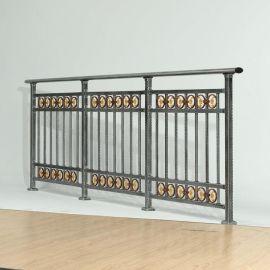 阳台护栏 YC-01C   带圈四横杆  简单易组装