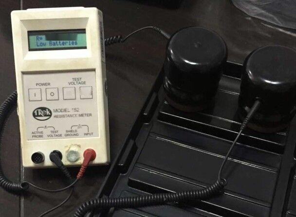 美國原裝TREK152-1數顯表面電阻測試儀