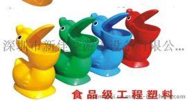 深圳新型塑料垃圾桶厂家,室内特色卡通垃圾桶