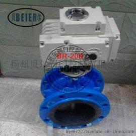 D941X-10C DN100软密封电动法兰蝶阀