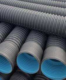 PE400mm双壁波纹排污管,大口径排污管质量有保障