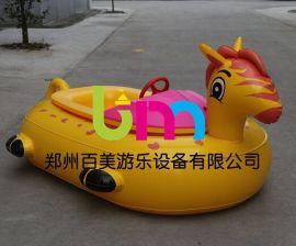 陕西铜川水上碰碰船小孩电瓶船多少钱?