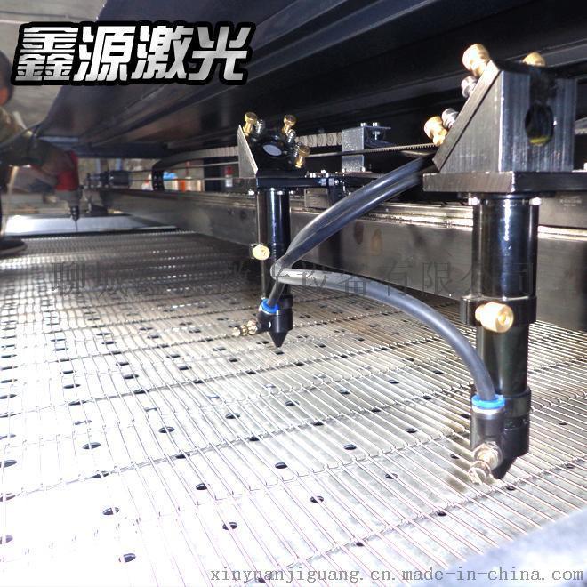 鑫源1812型全自动送料毛绒玩具激光切割机