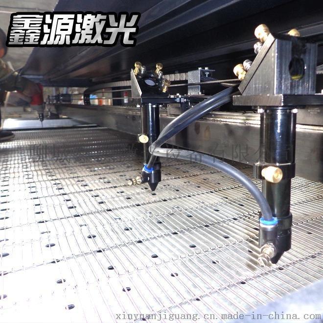 鑫源1812型全自动送料毛绒玩具皮革激光切割机激光雕刻机