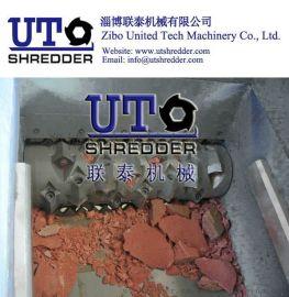 单轴撕碎机矿石粉碎机硬质固体破碎机单轴破碎机