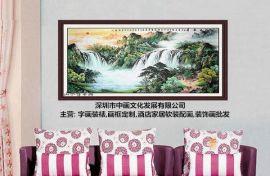 深圳福田专业装裱公司字画框,装裱一幅书法价格,上门装裱服务公司