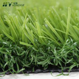 哈尔滨足球场地人造草坪草高3.5免充沙人造运动草坪