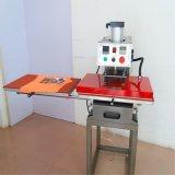 鼠标垫下滑式气动双工位烫画机   T恤服装皮革卫衣自动热转印机