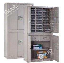 广州国保保密柜W2830F+42T分体两层冷轧钢制保密文件柜