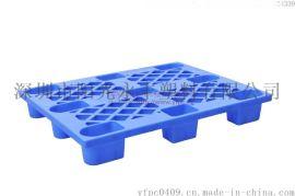 供应1210九脚托盘 承诺质保 工厂仓库物流仓垫板防潮板塑料托盘
