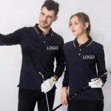 團體服DIYT恤定製長袖工作服印logo翻領POLO衫訂做廣告衫刺繡