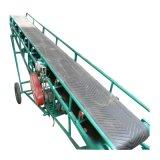 粮食收购用皮带机块状物料槽型皮带输送机可正反转移动式皮带机