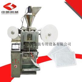 厂家直销双膜包装机 双膜无纺布粉剂包装机 双膜足贴药粉包装机
