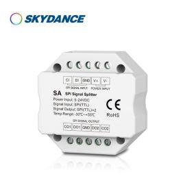 SPI两路信号放大器 DMX512控制器SA