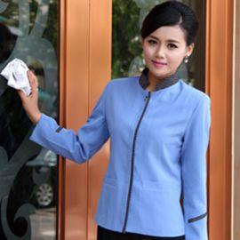 保洁服秋冬装保洁工作服长袖清洁工客房服务员服装