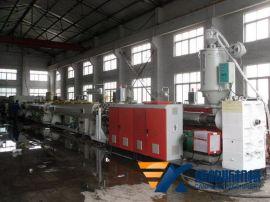 **机械SJ90/120/150 16-1200 PE、PP燃气给水管生产线