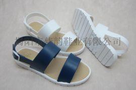 女款时尚简单元素凉鞋