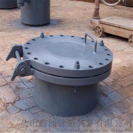 矩形保温人孔 DN500轻型人孔法兰盖 锅炉手孔