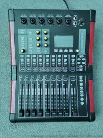 数字调音台12路小型会议演出专业调音台