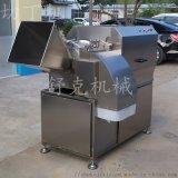 工廠用高速凍肉三維切丁機土豆切丁設備