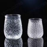 供应玻璃烛台蜡烛罐玻璃工艺品 厂家直销