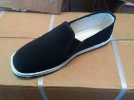厂家生产直销老北京帆布鞋纯手工刺绣绣花鞋千层底黑布鞋妈妈鞋