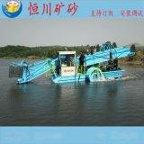 供应恒川80型全自动割草船 垃圾打捞船 清漂船 水面保洁设备